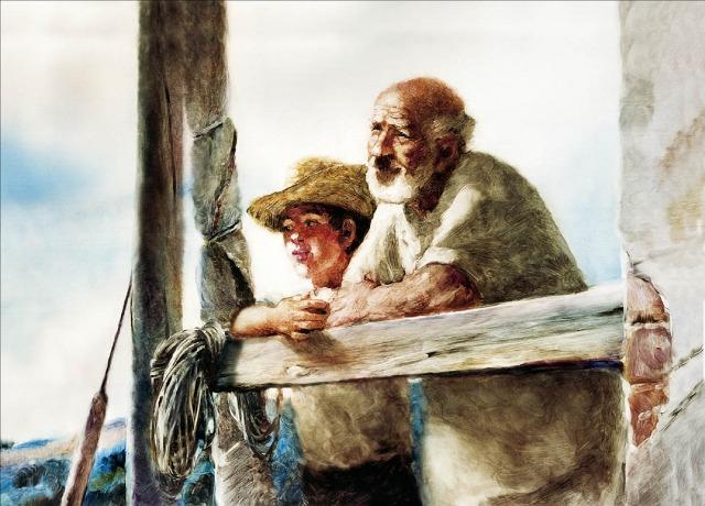Le vieil homme et la mer (1)